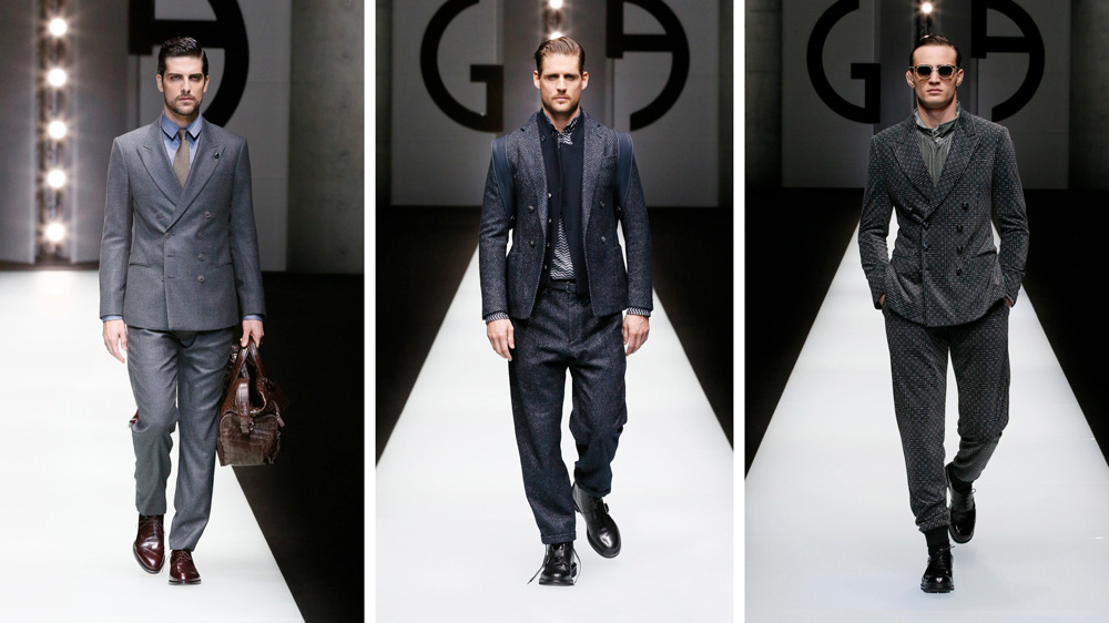 Armani designer öltönyök